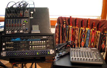 Clint's performance rig